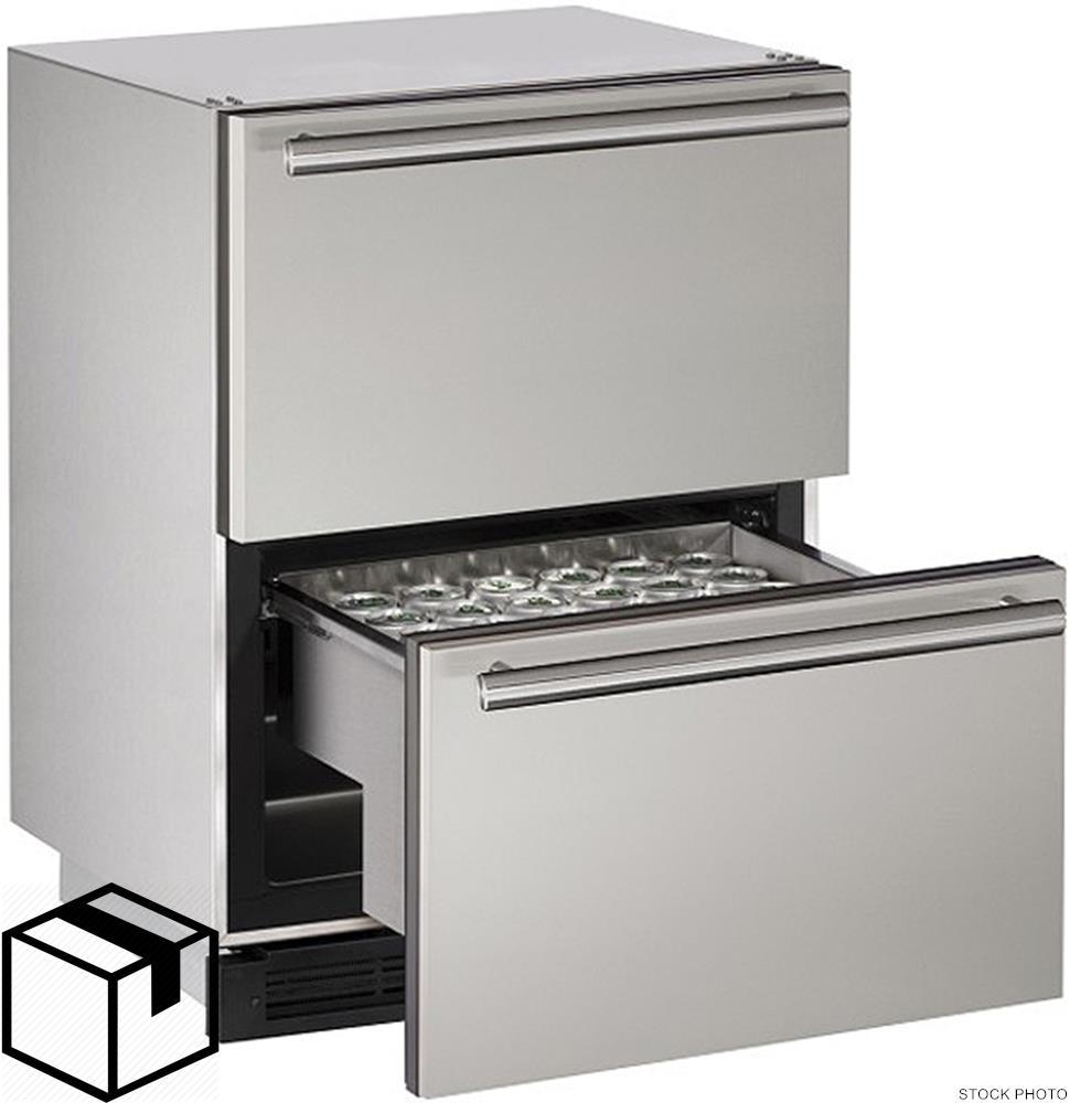 u line u 1224dwrsod 00a 24 outdoor solid refrigerator. Black Bedroom Furniture Sets. Home Design Ideas